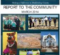 2014 Report to the Community